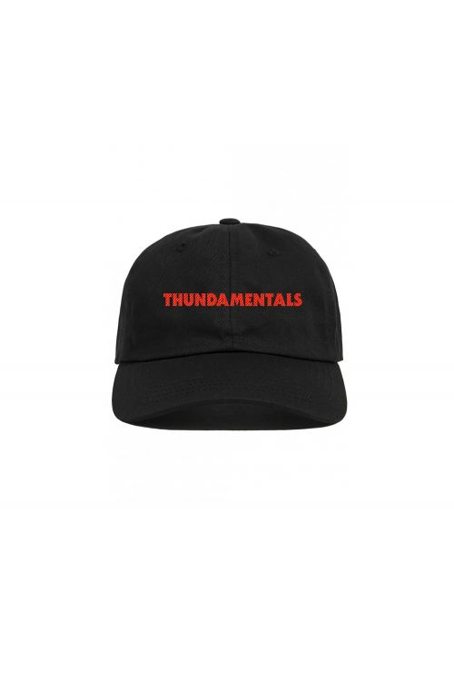 Black Cap Thundamentals Text by Thundamentals