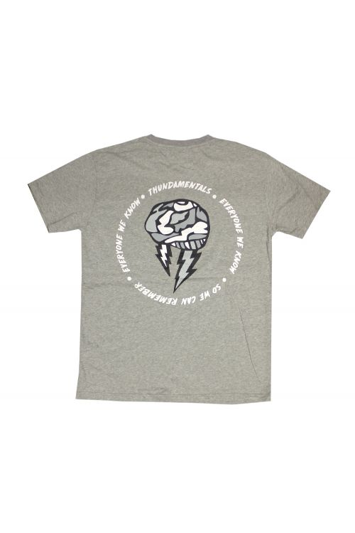Brainstorm Grey Tshirt by Thundamentals