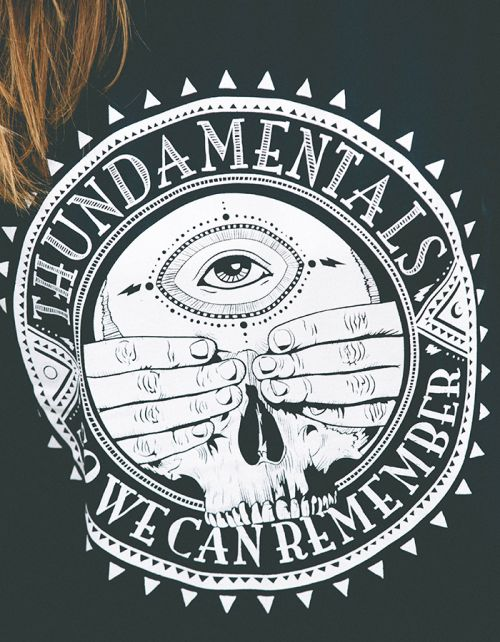 So We Can Remember - Blue Mens Tee by Thundamentals