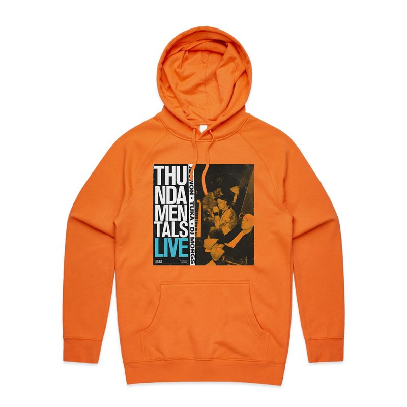 ISO TAPES ORANGE HOODY